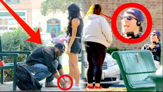Will Guys Help a Skinny Girl or Fat Girl? Is CHIVALRY Dead? Social Experiment part 2