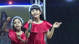 قناة اطفال ومواهب الفضائية حفل توب سنتر جازان العودة للمدارس اليوم 1