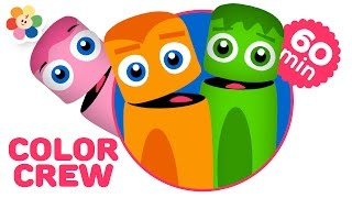 Colors for Kids | Color Learning Videos for Children | Full Episodes of the Color Crew | BabyFirst
