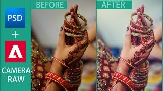 Indian Wedding Photography Post Production - Photo Editing - Effects - Photoshop CC