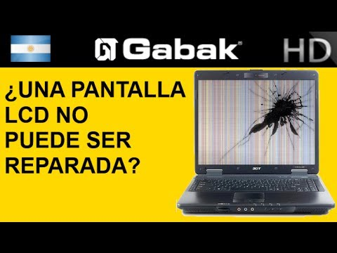 ¿Por qué una pantalla de LCD no puede ser reparada TV Monitor Celular.