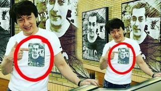 Jackie Chan BIG FAN Of Salman Khan - Wears Being Human Shirt