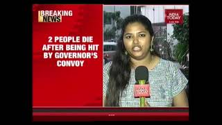 2 Killed After Being Hit By Governor's Convoy Near Mahabalipuram