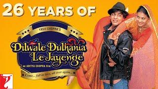 Relive The Magic Of Dilwale Dulhania Le Jayenge | Shah Rukh Khan | Kajol