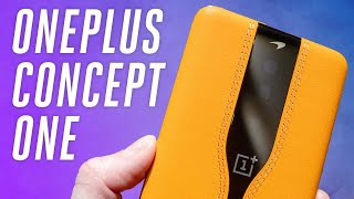 OnePlus Concept One hands-on: disappearing camera