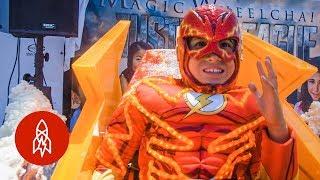 Wheelchair Costumes Turn Kids Into Superheroes