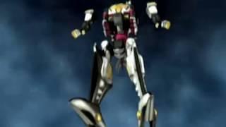 Dino Stegazord First Megazord Battle (Power Rangers Dino Thunder) - Debut