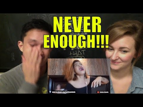 The Greatest Showman - NEVER ENOUGH (Cover) Katrina Velarde REACTION