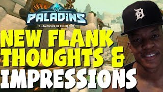 New Flank MOji (Paladins) Thoughts and First impressions - Face Cam edition