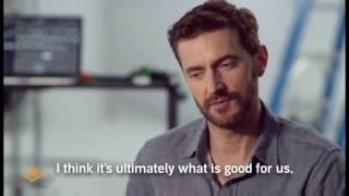 Richard Armitage on whether a love that lasts is slow and moderate