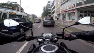 GoPro Hero 5  - Ride on a Kawasaki Z800