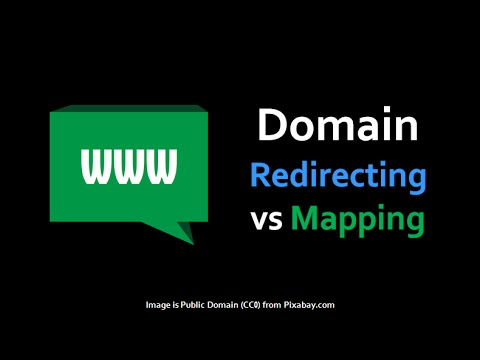 Difference Between Domain Redirecting and Mapping