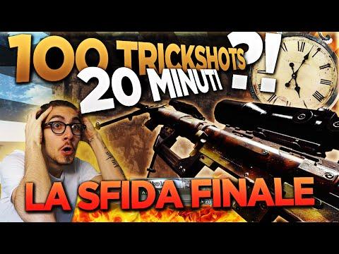 100 TRICKSHOTS IN 20 MINUTI?! - LA SFIDA FINALE CONTRO IL TEMPO. (100.000 #3)