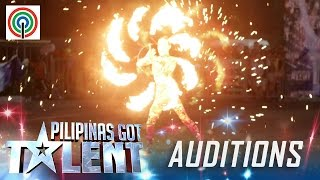 Pilipinas Got Talent Season 5 Auditions: Amazing Pyra - Fire Dancer
