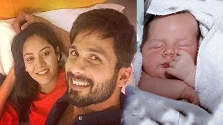 Shahid Kapoor Wife Mira Rajput Delivered A Baby Girl | Shahid Kapoor Become Father