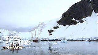 NASA tracking melting ice in Antarctica