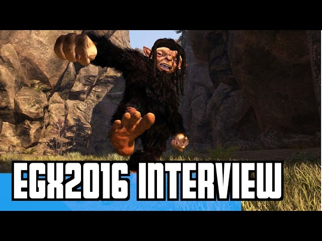 EGX 2016 Troll And I Interview / GAMEPLAY