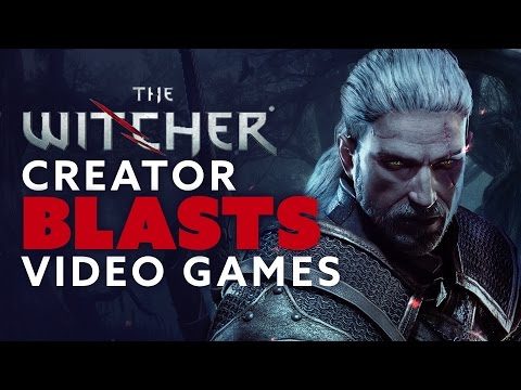 The Witcher Creator BLASTS Video Games - The Know Game News