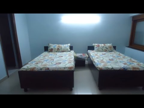 Fully Furnished Luxury P G Accommodation One Bed Room in Friends Colony South Delhi India on Rent