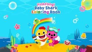 [App Trailer] Pinkfong Baby Shark Coloring Book