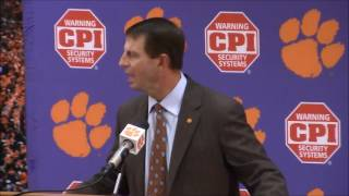 TigerNet.com - Dabo Swinney not happy with ESPN reporter asking about Pitt game after USC win