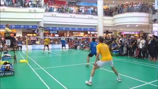 Dream match Lee Chong Wei VS Peter Gade (4)
