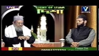 Q & A on live tv (bangla sunni waz) maulana Abdul Jalil qadri