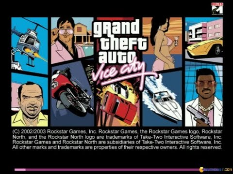 Grand Theft Auto: Vice City gameplay (PC Game, 2002)