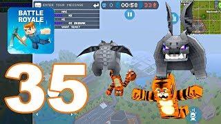 Mad GunZ - Gameplay Walkthrough Part 35 - Battle Royale (Android Games)