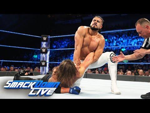 Xxx Mp4 AJ Styles Vs Andrade Cien Almas SmackDown LIVE July 17 2018 3gp Sex
