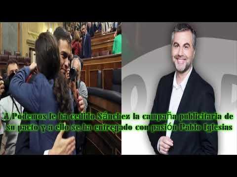 Xxx Mp4 A Podemos Ha Cedido Sánchez La Campaña Publicitaria Del Pacto Y Se Ha Entregado Con Pasión Iglesias 3gp Sex