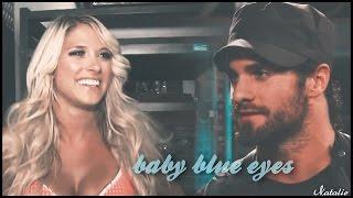 kelly & seth | baby blue eyes