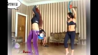 رقص بالفيزون الاسود