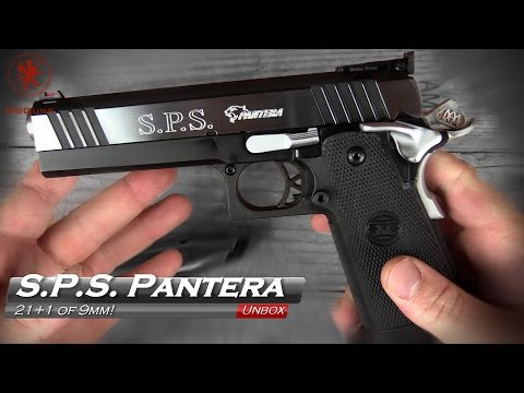 Unboxing the Incredible S.P.S. Pantera 9mm 1911