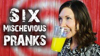 6 Mischievous Tricks & Pranks - for April Fools