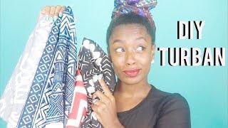 I Get My Headwraps from Hobby Lobby  DIY Turbans  LenaLoveCurls