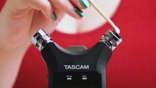 ASMR. Bare Mic Scratching & Tapping
