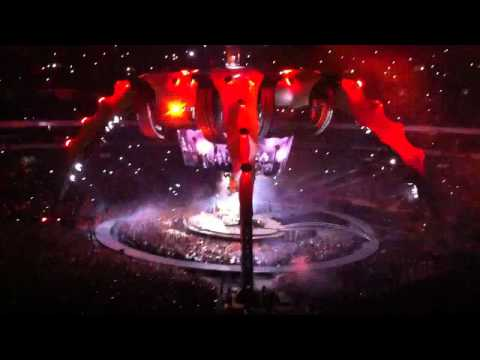 U2 360° Tour - Even better than the real thing, Out of control - Mexico 14/05/2011 Youtube Multicam