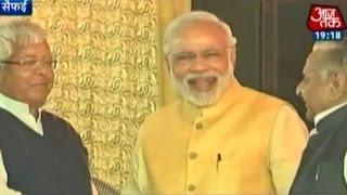 India 360: Modi, Lalu, Mulayam Come Together at Saifai