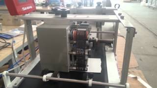SAVEMA Feeder with SVM 32*50 Intermittent Thermal Transfer Overprinter