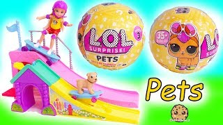LOL Surprise Pets + Barbie Kid -  Blind Bag Pet -  Litter Box Sand , Cry , Color Change ?