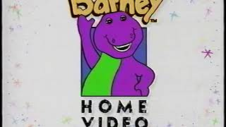 Opening to Barney Rhymes with Mother Goose 1993 VHS [True HQ]