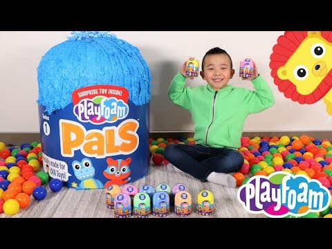 Xxx Mp4 Playfoam Pals GIANT SURPRISE Egg Opening Fun With Ckn Toys 3gp Sex