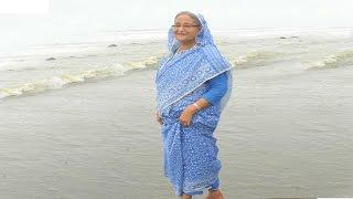 কক্সবাজার সমুদ্র সৈকতের পানিতে নামলেন প্রধানমন্ত্রী শেখ হাসিনা | Sheikh Hasina | Bangla News Today