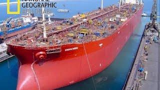 وثائقي تفكيك هياكل عملاقة  ناقلة البحرية