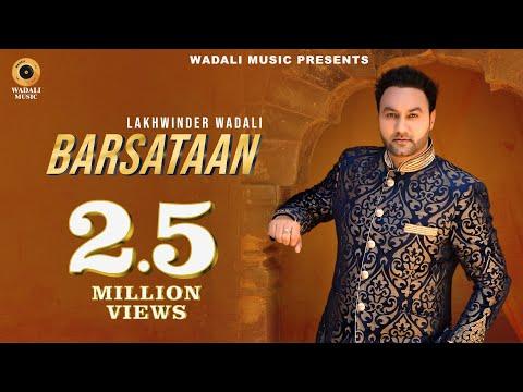 Barsataan (HD) | Lakhwinder Wadali | Official Music Video | Wadali Music