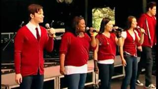 Glee Sings Don't Stop Believin' at the White House Easter Egg Roll