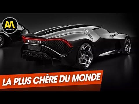 Salon de Genève Bugatti La Voiture noire la plus chère du monde