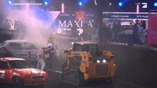 Joyce Auto in Flammen | Stock Car Crash Challenge 2015