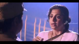 Sethupathi IPS - Vijayakanth arrests Srividya